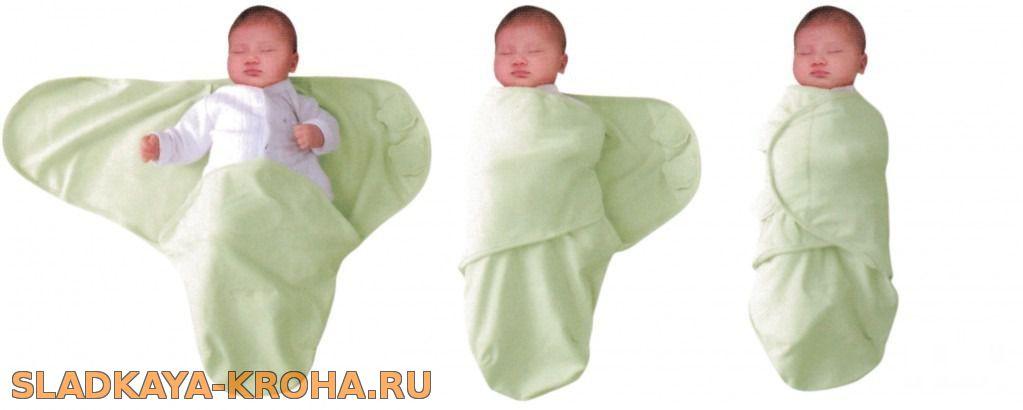 Пеленки для новорожденных размер своими руками
